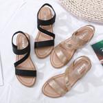 Round Toe Flat Retro Elegant sandals