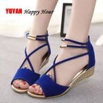 Wedges Fashion   Peep toe Sandals