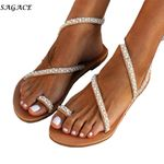Vintage Pearl   Leather Flat Sandals