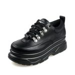 Fashion  Mesh  Casual Chunky Platform Sneakers