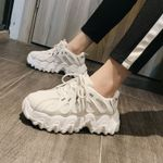 Fashion  Casual  Vulcanized  Chunky Platform Sneakers