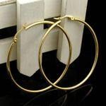 Small Big Hoop  Stainless Steel Earrings