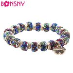 Bangle Fashion  Crystal Beads Bracelet