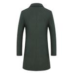 Business Casual luxurious Wool Blends Long Woolen coat