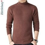 pullover thick warm turtleneck knitted sweater
