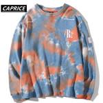 Hip Hop Hipster Casual Loose Tie Dye Pullover Hoodies