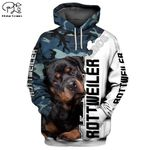 long sleeve  pullover Funny  dog print hoodies