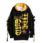 Fashion Patchwork Casual Letter Sweatshirt