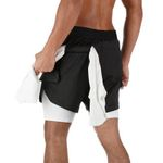 Fitness  Pockets Leisure  Gym  Running Shorts