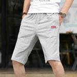 Lace up Pocket Fashion  Slim Casual Shorts