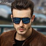 Square Retro  night vision Goggles Polarized Sunglasses