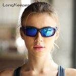 Oval Night Vision Frame  Polarized Sunglasses