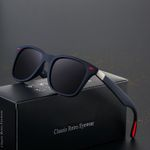 Driving Square Frame  Classic Polarized  Sunglasses