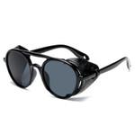 Round Shades Vintage Fashion Steampunk Sunglasses