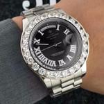 Wrist Stainless Steel Quartz Famous  Diamonds Watch