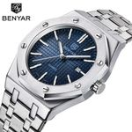Stainless Steel Luxury Quartz  Waterproof Sports Watches