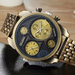 Full Steel Watch Military  Luxury Quartz Wrist Watches