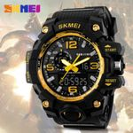 Digital Led Waterproof Military  Dial Shock Watches