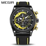 Silicone Army Military Wrist  Chronograph Sport Watch