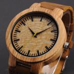 Zebra Case Leisure   Wood Watches