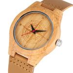 Quartz  Premium Handmade Bamboo  Wood Watch