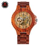 Automatic Wrist Luxury  Mechanical Wood Watches