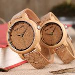 Bamboo Quartz  Wood Watches