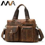 Genuine Leather  Messenger Leather Laptop Handbags