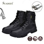 Tactical  Steel Toe Cap Waterproof  Motorcycle Work Boots