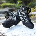 leather comfortable  non-slip warm snow boots