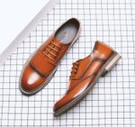 Brogues  Wedding Genuine Leather Oxfords Shoes