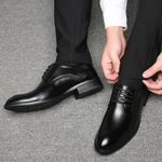 Business British Lace-up  Oxford Shoes