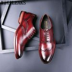 Formal  Leather Fashion  Oxford Shoes