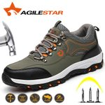 Puncture Proof Construction Breathable  Steel Toe Shoes