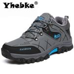 Outdoor Hiking  Snow Warm  Leather Sneakers