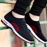 Breathable Casual Sports Mesh Vulcanize Shoes