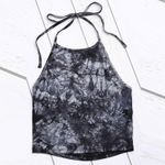 Vintage Printed Sleeveless Sexy Halter Fashion Boho Top