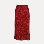 Pencil Fashion High Waist Slim   Leopard Boho Skirt