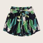 Sexy Floral Printed  Mid Waist Sashes  Casual Bohemian  Shorts