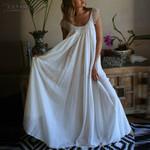Fashion  Sleeveless Lace Patchwork Long Maxi Dress