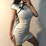 Chinese Style Skinny Sexy Slim Vintage  Dress