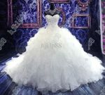 robe  beading  Wedding Dress