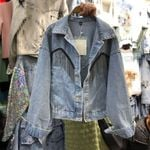 Fringe  Retro Ins Cropped Denim Jacket