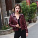 Fashion sheepskin leather Jackets