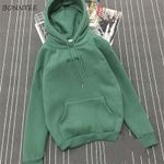 Trendy Warm Casual  Long Sleeve Pocket Hoodies