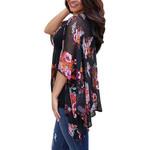 Cardigan Vintage Floral Loose Shawl Kimono