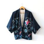 Japanese Style Fashion Cardigan Chiffon Print Kimono