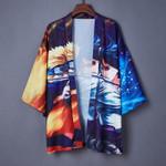 Chiffon Cardigan  Loose Thin  Japanese Kimono