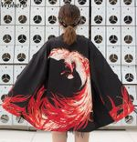 Cardigan  Vintage  Japanese Outfit Kimono