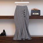 knitting wool warm long  fashion casual sexy Skirt
